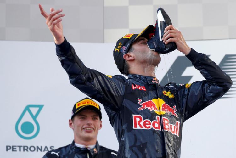 Ricciardo correu pela Red Bull na última temporada - Foto: Edgar Su | Reuters