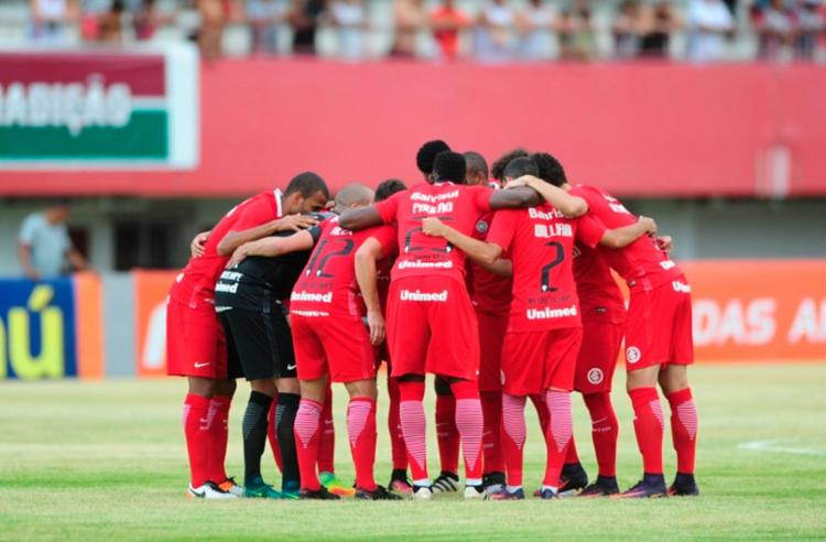 O time foi rebaixado pela primeira vez em sua história - Foto: Ricardo Duarte | S.E. Internacional