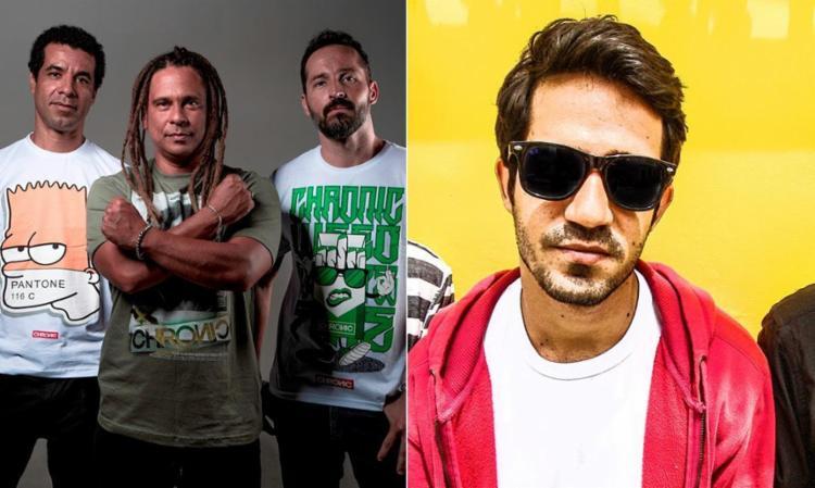 Diamba e Scambo vão se apresentar sábado e domingo, respectivamente - Foto: Divulgação