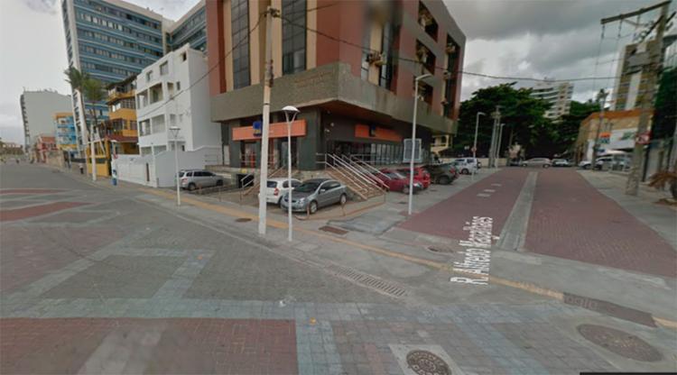 A opção de tráfego é a avenida Almirante Marques de Leão acessando a rua Alfredo de Magalhães - Foto: Reprodução | Google Maps