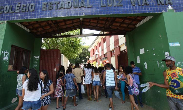 A primeira edição do Enem aconteceu nos dias 4 e 5 de novembro - Foto: Margarida Neide   Ag. A TARDE