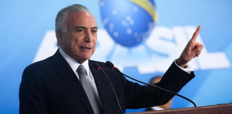 Temer ressalta que flexibilidade para mulheres ainda não está em pauta - Foto: Antonio Cruz   Ag. Brasil