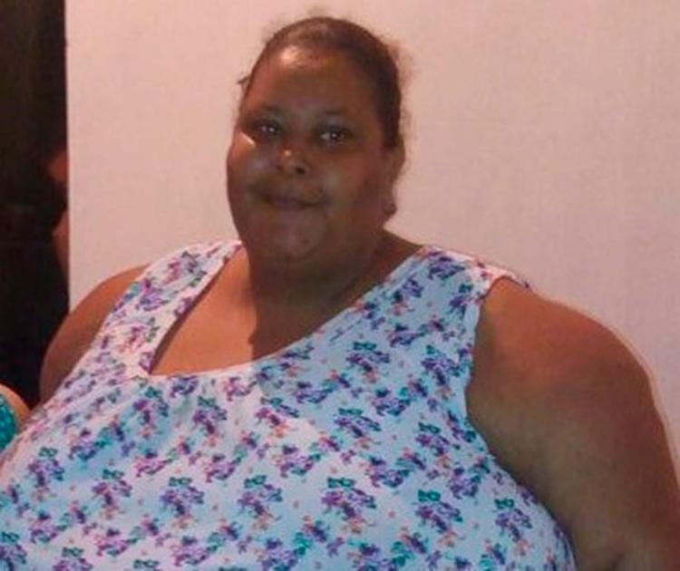 A dona de casa Eliana Amaral, 35 anos, pesava 245 quilos - Foto: Arquivo pessoal