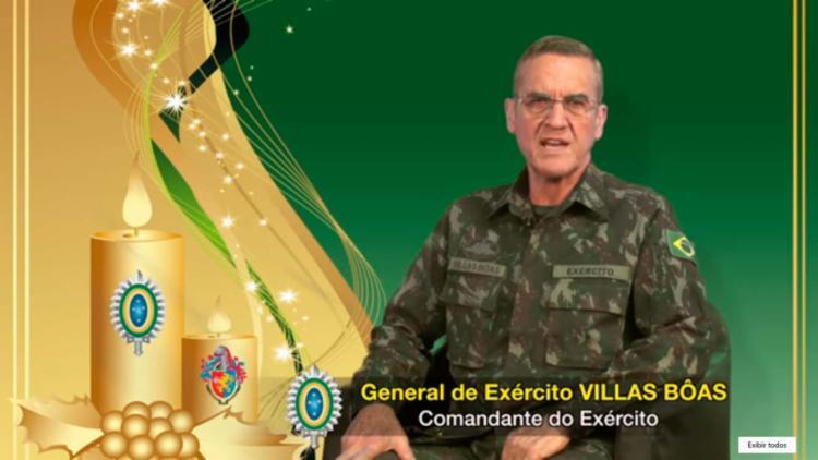 Resultado de imagem para Em mensagem de Natal, comandante do Exército prevê agravamento da crise em 2017