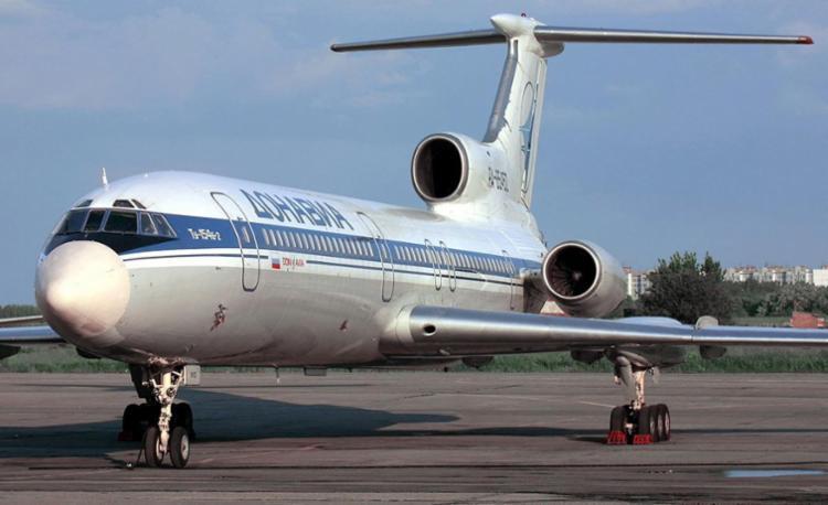 Modelo do avião russo que caiu - Foto: Alexander Nemenov | AFP