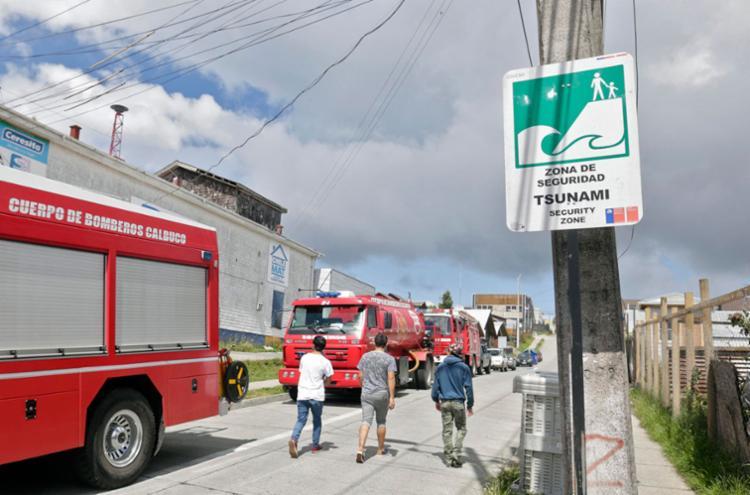 Moradores de área de risco foram levadas para zona de segurança - Foto: Nicolas Klein Torres | AFP