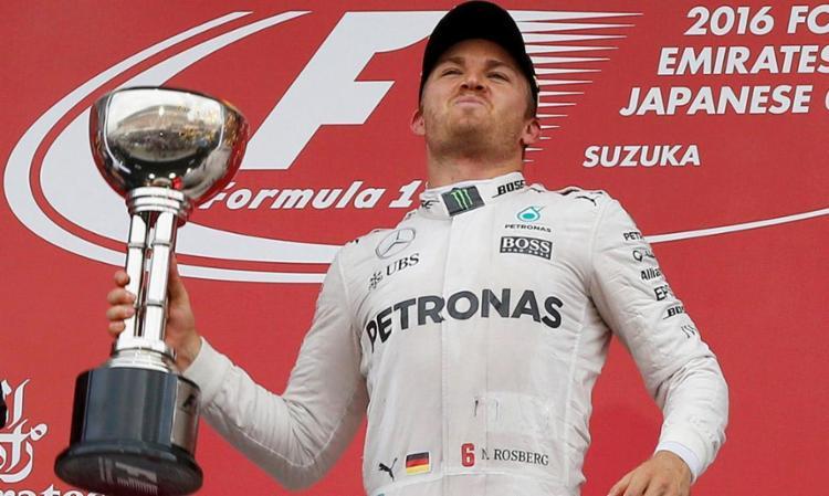 Rosberg foi campeão e se aposentou - Foto: Divulgação | FIA
