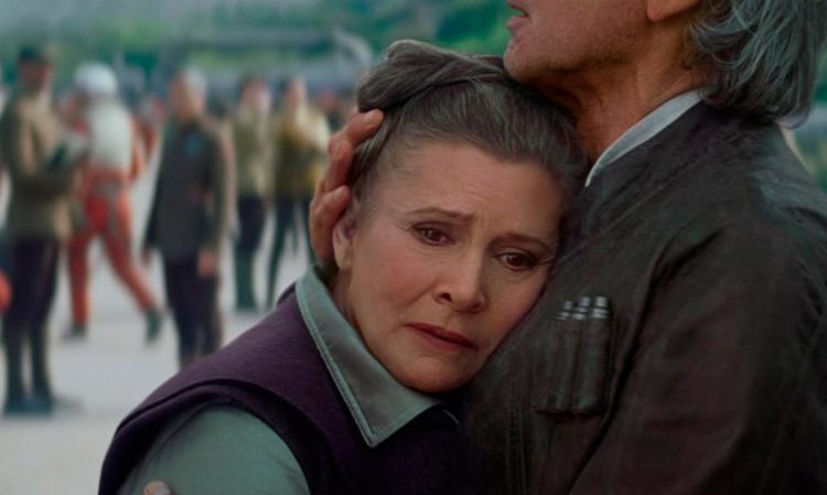 Carrie Fischer ficou famosa como a princesa Léia da saga Star Wars - Foto: Divulgação