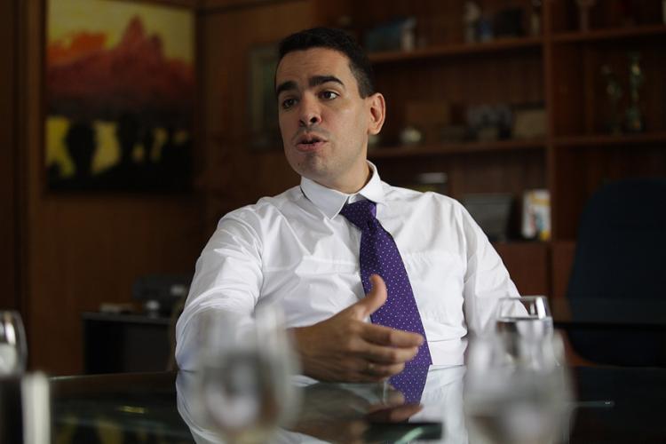 Marcelo Sant'Ana, presidente do Esquadrão - Foto: Adilton Venegeroles l Ag. A TARDE