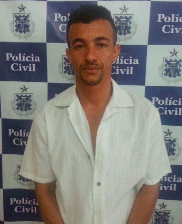 Genivaldo de Souza Almeida preso em flagrante - Foto: Divulgação / Polícia Civil