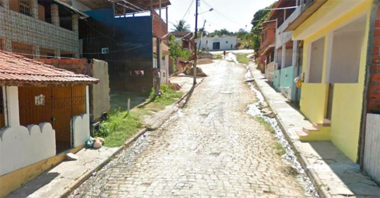 Crime ocorreu na rua do Santíssimo, em Mar Grande - Foto: Reprodução | Google Maps