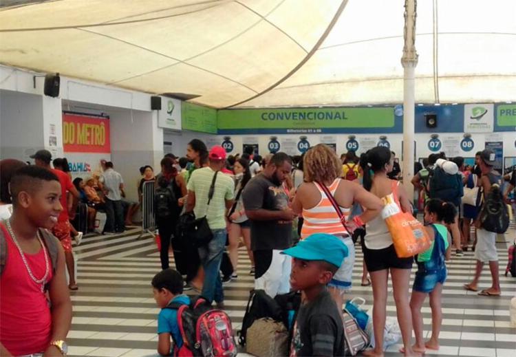 Ferry funciona durante 24 horas até o dia 3 - Foto: Joá Souza | Ag. A TARDE