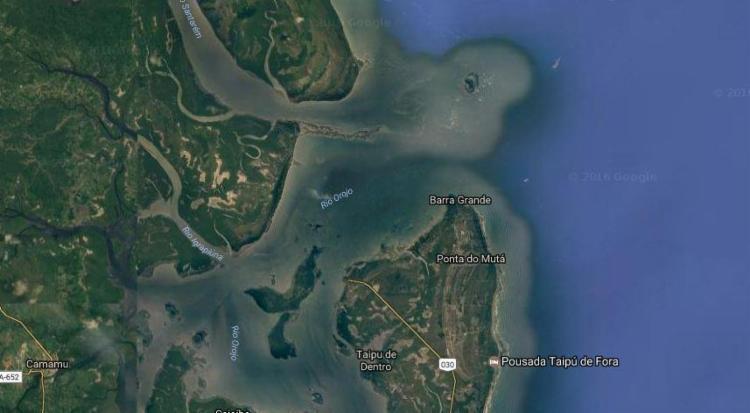 Acidente aconteceu nas proximidade de Barra Grande - Foto: Reprodução | Google Maps