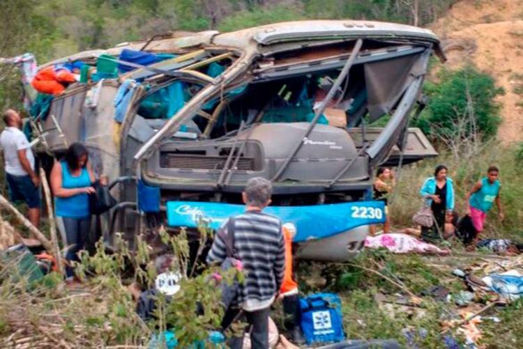 O acidente aconteceu no trecho do KM 479 da BR-116, entre Jequié e Vitória da Conquista - Foto: Blog do Anderson | Reprodução