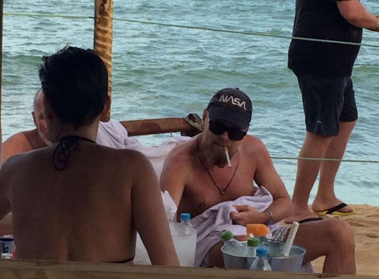 DiCaprio foi visto nesta sexta-feira, 30 - Foto: Diogenes Queiroz | Divulgação