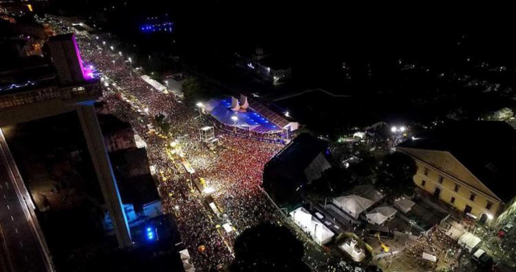 Paraça Cairu é o palco do Réveillon de Salvador - Foto: Valter Pontes | Agecom