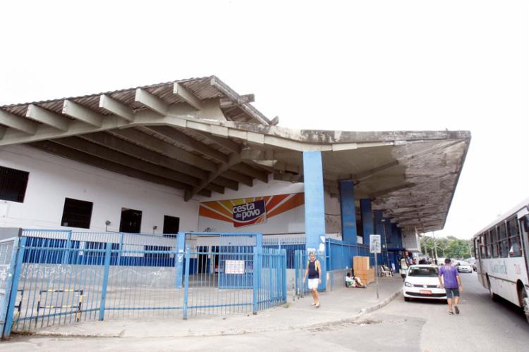 Apenas 96 lojas da Cesta do Povo ainda estão funcionando como parte do processo de enxugamento da rede - Foto: Luciano da Matta | Ag. A TARDE