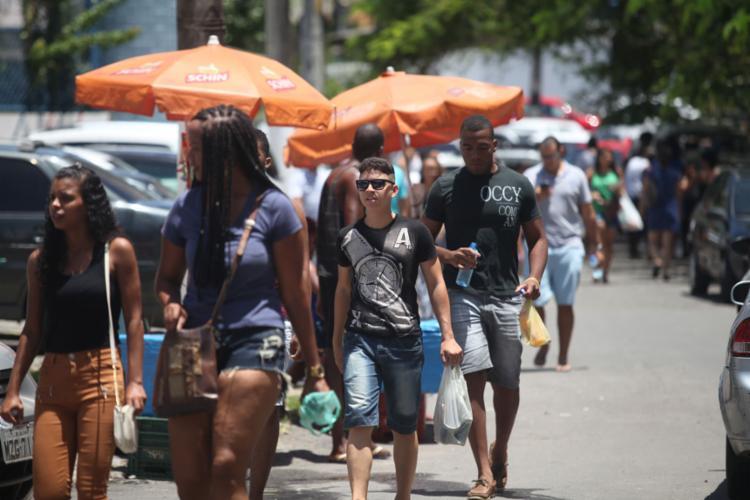 Na Bahia, a segunda aplicação do Enem 2016 foi realizada em 31 dos 417 municípios - Foto: Raul Spinassé | Ag. A Tarde