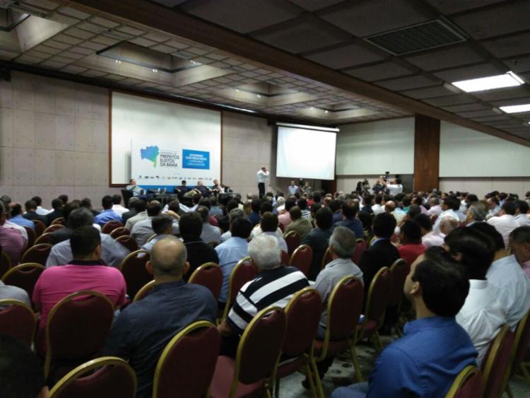 Seminário reúne gestores municipais em Salvador - Foto: Luan Santos | Ag. A TARDE