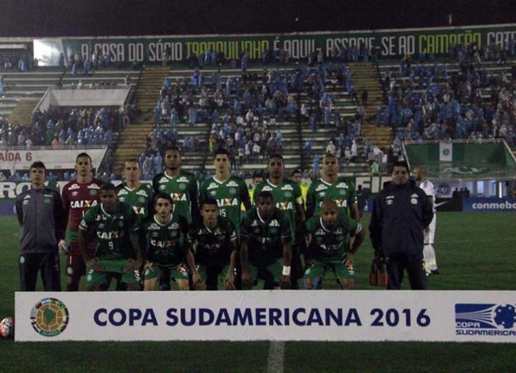 A Chape encararia o Atlético Nacional na final da competição - Foto: Reprodução   Facebook