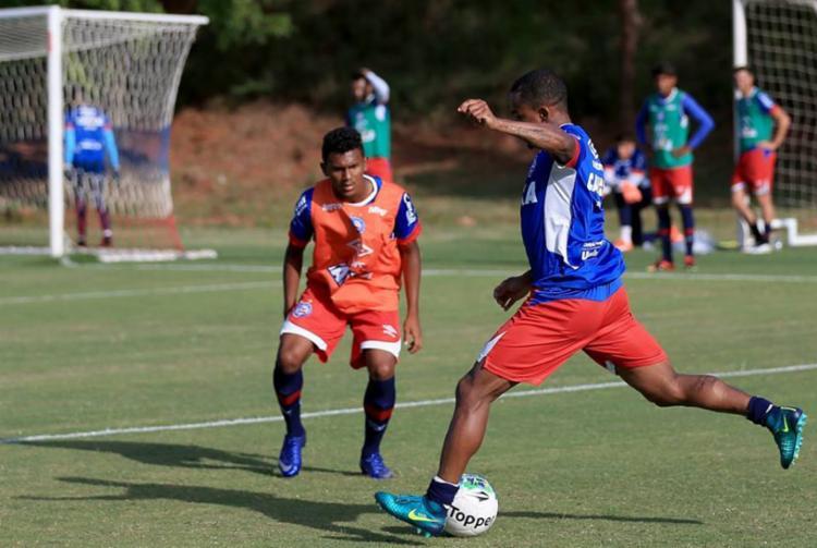 O time se prepara para encarar o São Paulo em partida decisiva - Foto: Divulgação   EC Bahia