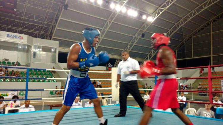As competições estão sendo realizadas no Ginásio Poliesportivo de Cajazeiras. - Foto: Divulgação | CBBoxe
