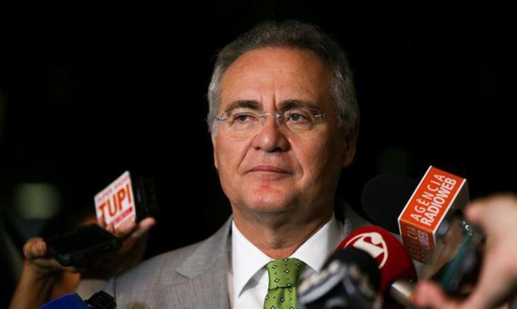 Renan Calheiros foi afastado nesta segunda-feira da presidência do Senado - Foto: Marcelo Camargo | Agência Brasil