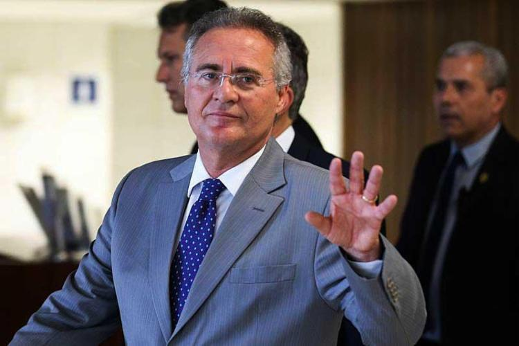 Renan já está listando nomes para substituir Michel Temer na Presidência - Foto: Fabio Rodrigues Pozzebom | Agência Brasil