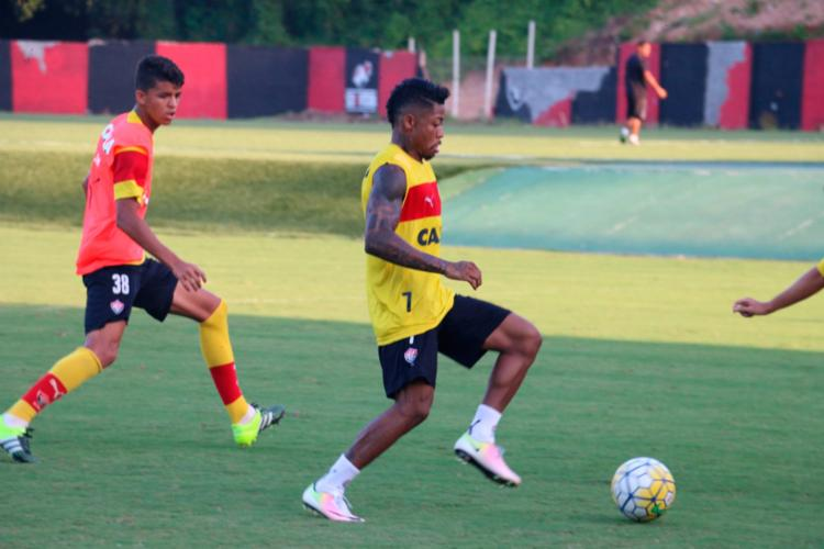 O time treinou na tarde desta terça - Foto: Francisco Galvão | EC Vitória