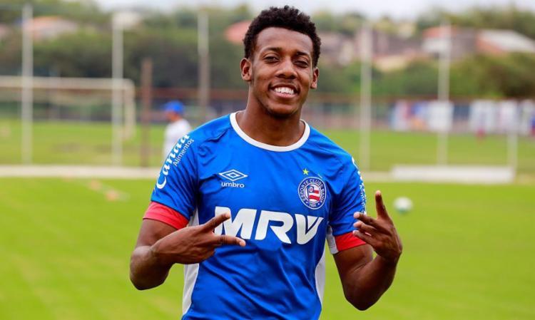 Moisés foi um dos destaques do Bahia nessa temporada - Foto: Felipe Oliveira | EC Bahia