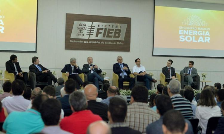 Empresários e autoridades ligados ao assunto se reuniram na Fieb - Foto: Beto Jr | Coperphoto | Sistema Fieb