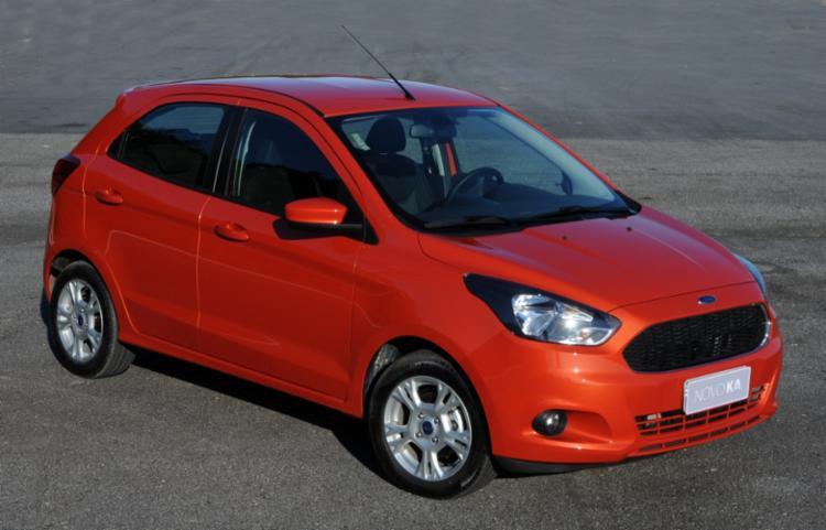 Ka, um dos carros mais vendidos - Foto: Divulgação Ford