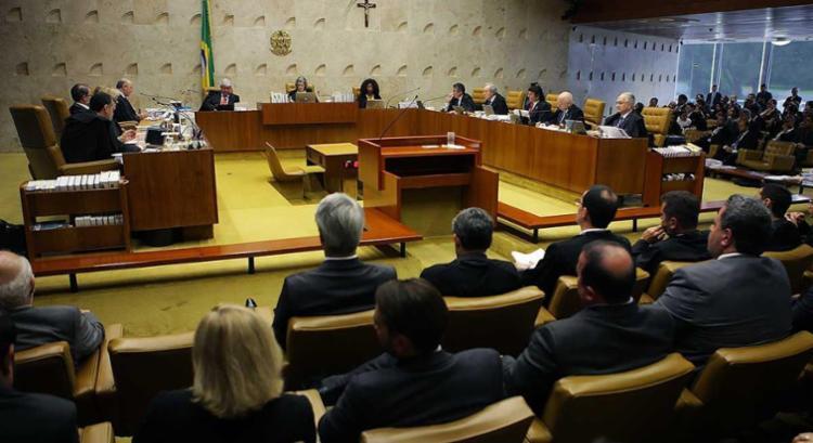 Cinco ministros votaram para derrubar a decisão individual do ministro Marco Aurélio - Foto: Fellipe Sampaio | SCO | STF