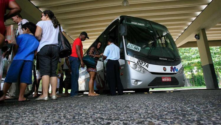 Aproximadamente 40 mil passageiros devem seguir para o interior do estado através do Terminal Rodoviário - Foto: Joá Souza | Ag. A TARDE | Arquivo