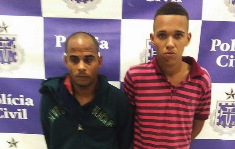 Edison e Carlos já tinham passagem pela polícia - Foto: Ascom | Polícia Civil