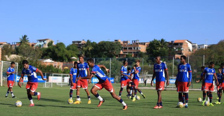 Bahia ganhou título estadual em maio de forma invicta - Foto: Felipe Oliveira | EC Bahia