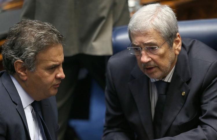 Aécio Neves (PSDB) ampliará espaço se Imbassahy ocupar Secretaria de Governo - Foto: Dida Sampaio l Estadão Conteúdo