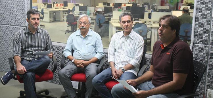 Ricardo David (penúltimo à direita), é candidato a presidente (Vitória de Todos Nós) - Foto: Luciano da Matta l Ag. A TARDE
