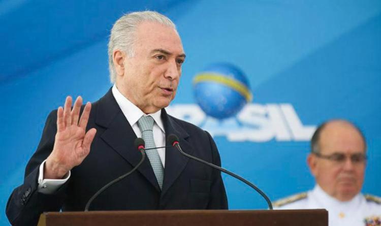 Temer é pressionado por empresários e deputados para aprovar projeto da Câmara - Foto: Antonio Cruz | Agência Brasil