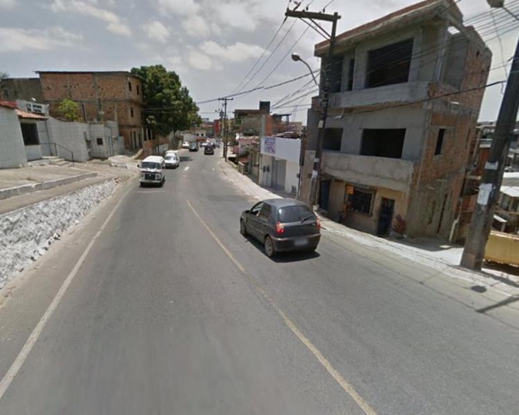 Acidente aconteceu próximo à Penitenciária Lemos de Brito - Foto: Reprodução | Google Maps