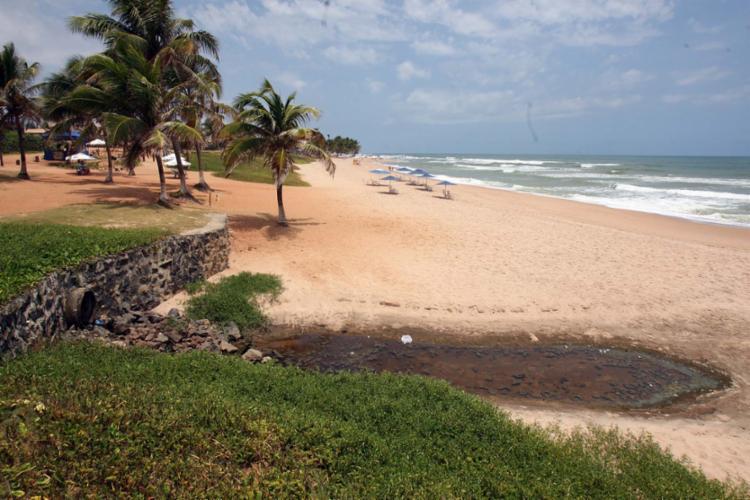 Praia terá que somar 34 itens exigidos por ONG para obter selo - Foto: Luciano da Matta | Ag. A TARDE