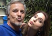 Letícia Spiller faz declaração e emociona Marcelo Novaes na TV | Foto: