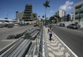 Estrutura da folia altera paisagem da capital | Foto: