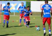 Bahia intensifica treino de olho na estreia do Nordestão | Foto: