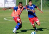 Sem atacante, Allione é testado como titular em treino | Foto: