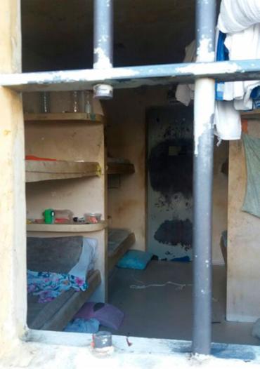 Dezoito presos estavam em uma cela que comportava seis - Foto: Divulgação