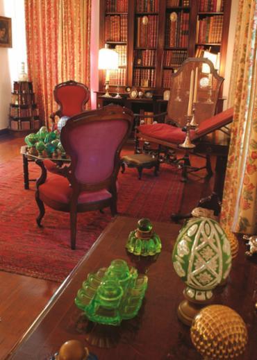 Os objetos subtraídos estavam na Casa Geyer doada em 1999 para o Museu - Foto: Divulgação | Museu Imperial