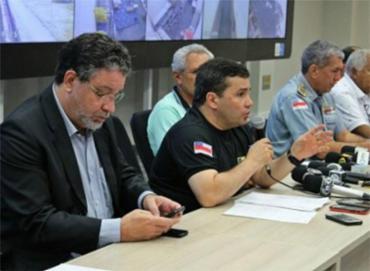 Força-Tarefa vai investigar mortes no Complexo Penitenciário Anísio Jobim - Foto: Reprodução l SSP-AM