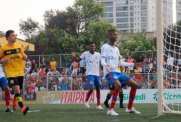 Invicto na Copinha, Bahia estreia na 2ª fase contra Cruzeiro nesta quarta