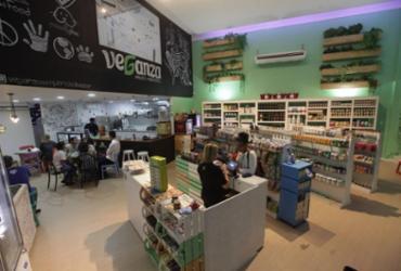 Comidinhas e cosméticos para veganos